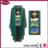 Cross Embroidery Chasuble