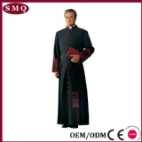 Professional factory custom wholesale priest gown clergy cassock